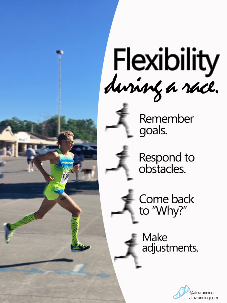 Flexibility during a race. atozrunning.com
