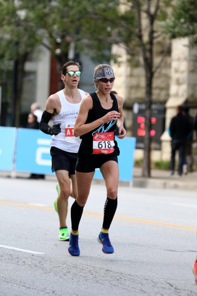 Andi Ripley at Chicago Marathon 2019