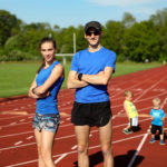 Family track workout