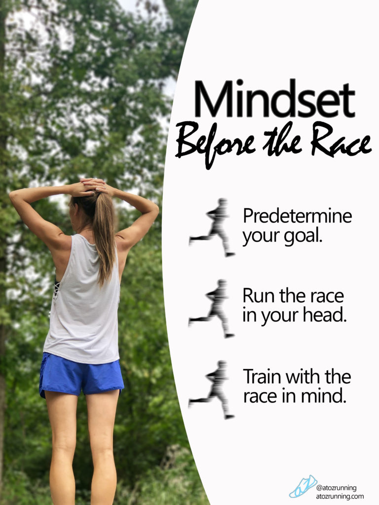 Mindset before the race. atozrunning.com