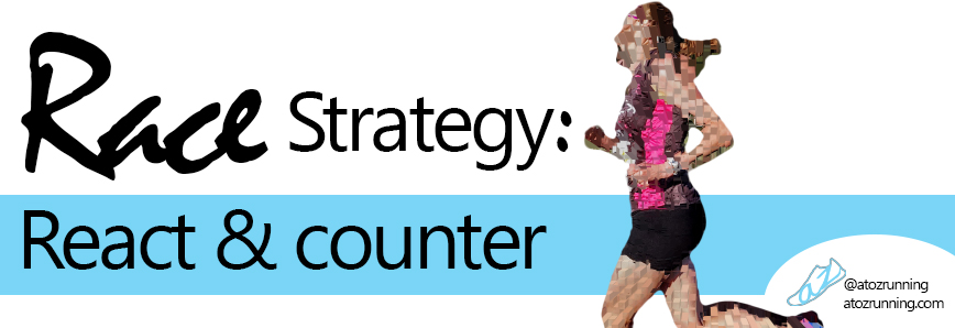 Race Strategy: React and counter.