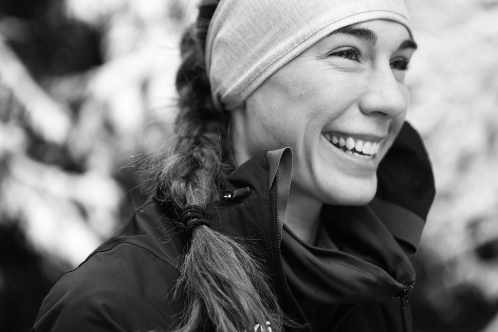 Andi Ripley winter runner