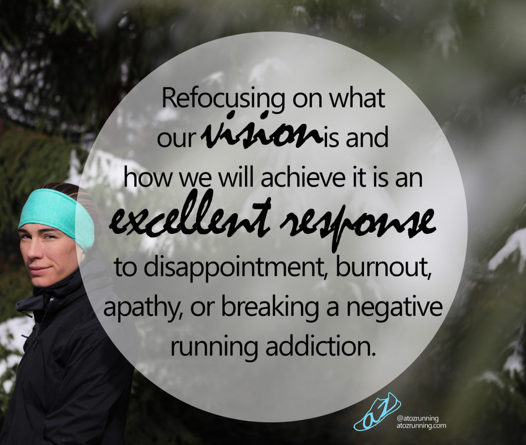 Refocus to condition positive reactions.