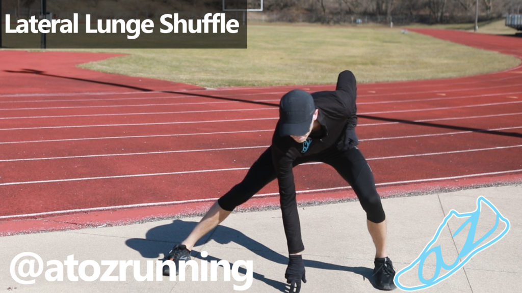 Lateral Lunge Shuffle
