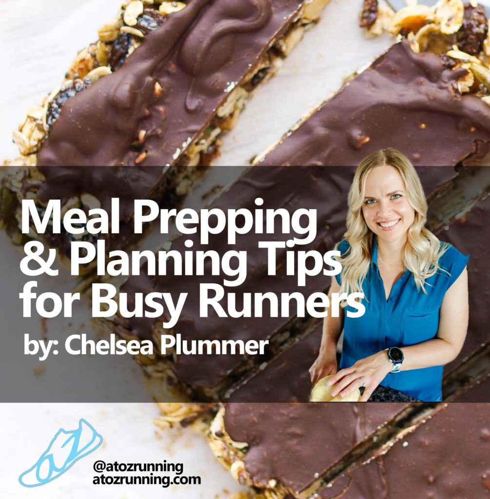 meal prepping and planning tips for busy runners