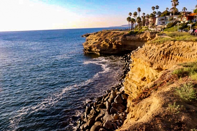 Amazing places to run, Sunset Cliffs Point Loma