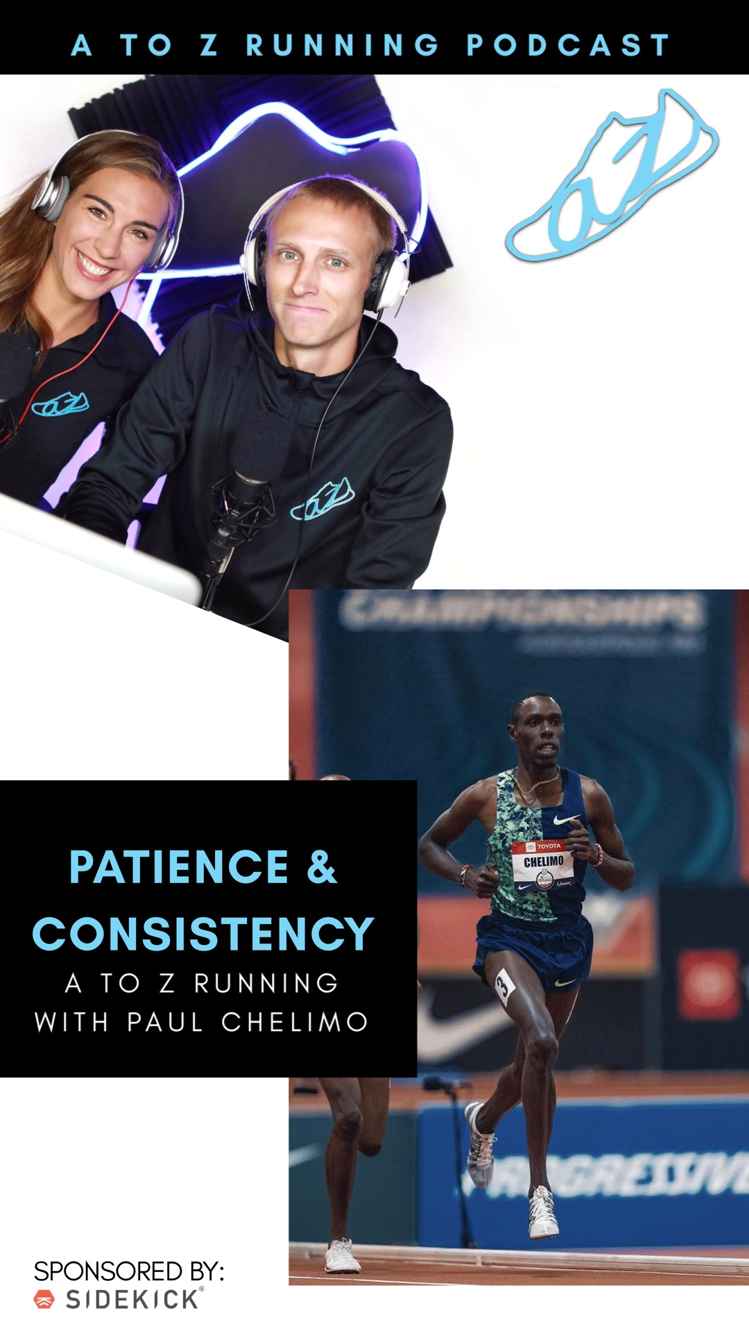 Paul Chelimo on the A to Z Running Podcast