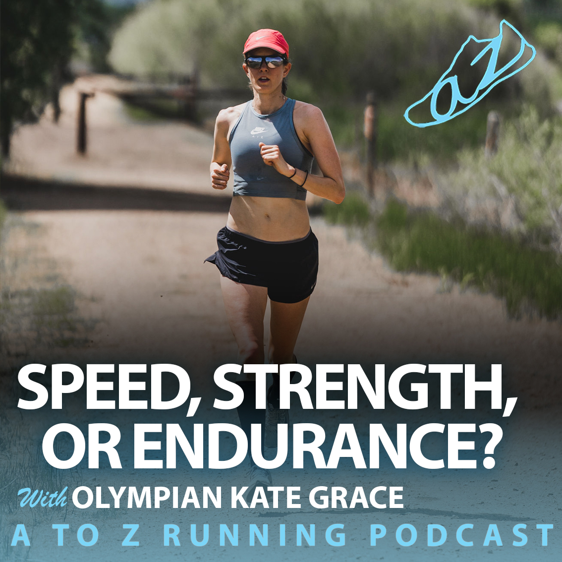 Kate Grace with the A to Z Running Podcast