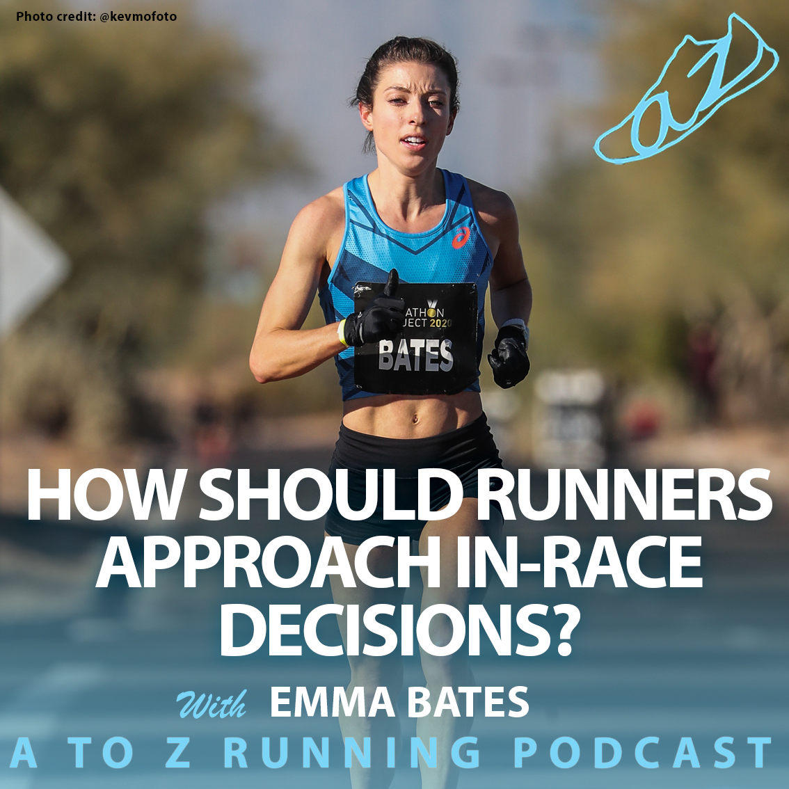 Emma Bates on the A to Z Running Podcast