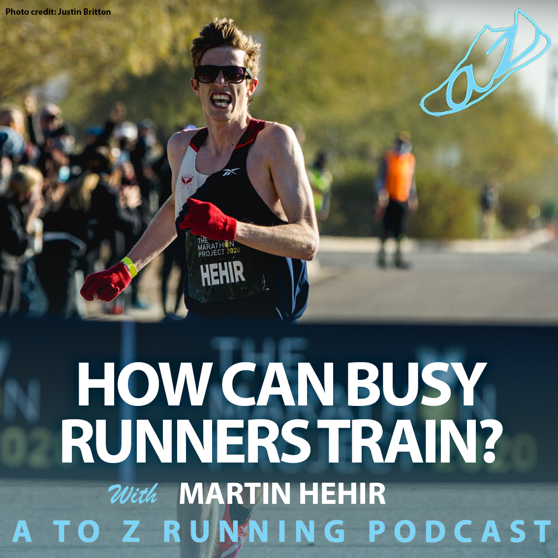 How can busy runners train with Martin Hehir