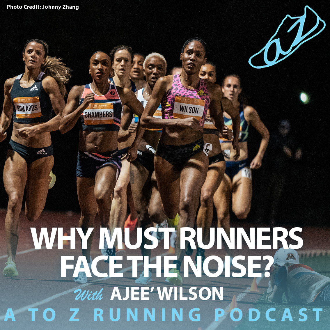 Why must runners face the noise with Ajee Wilson