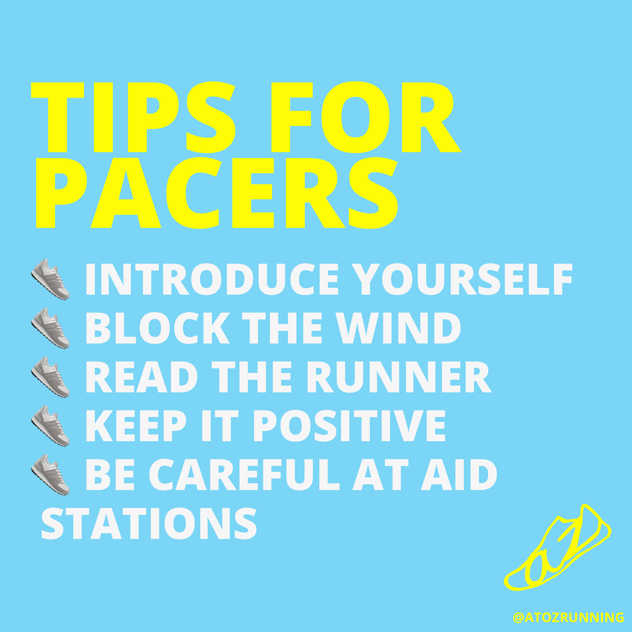 Tips for pacers