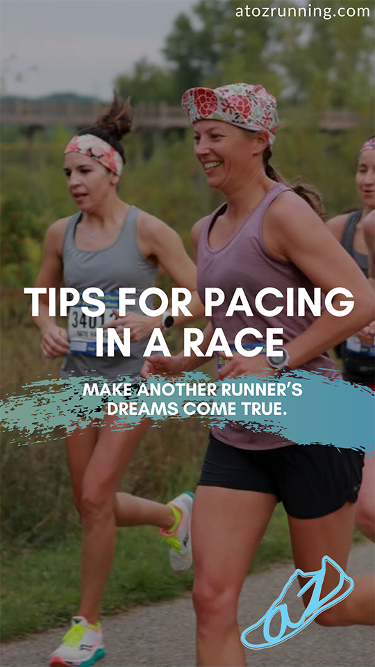 tips for pacing in a race