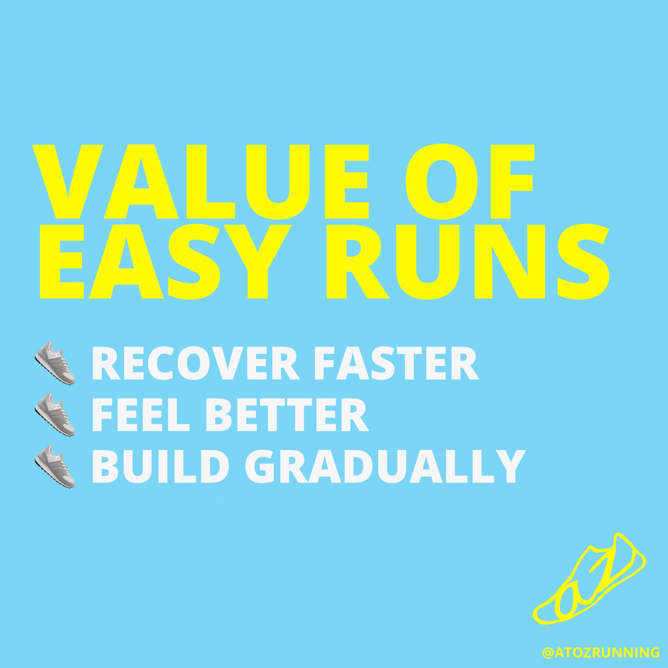value of easy runs