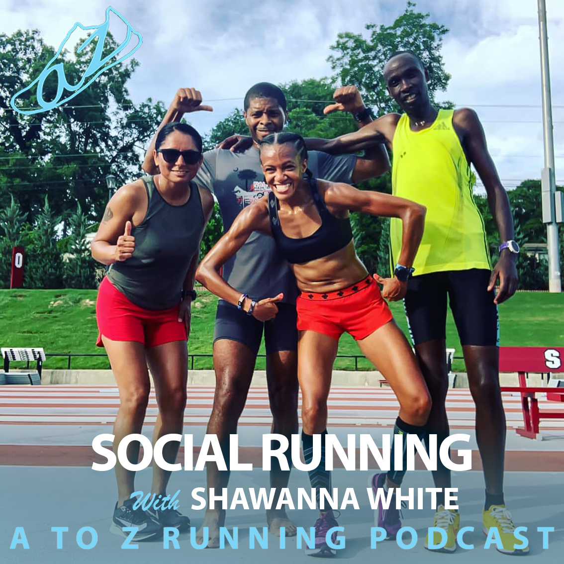 Shawanna White Podast about Social Running