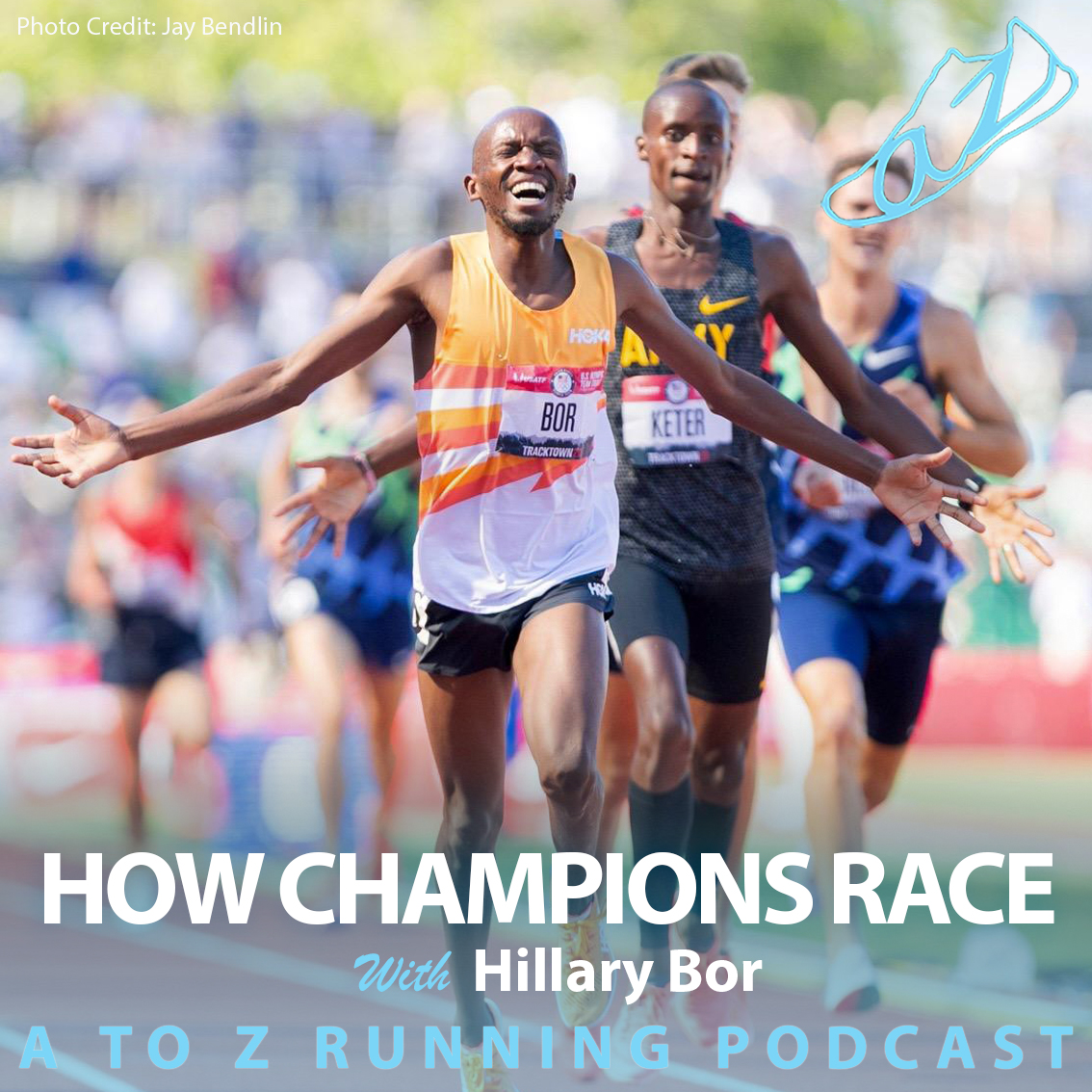 How champions race with Hillary Bor