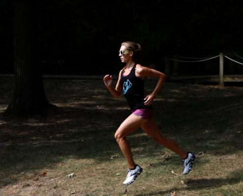 posture for running