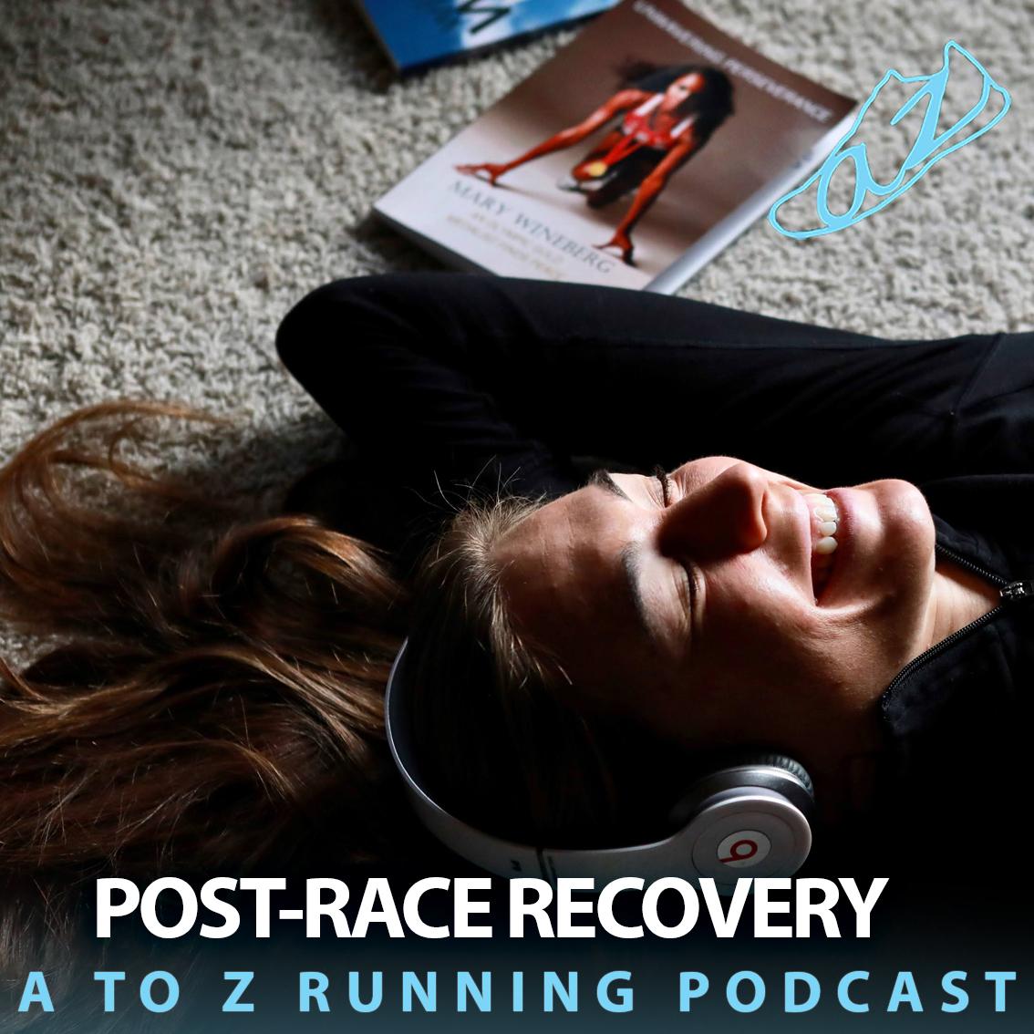 post-marathon recovery